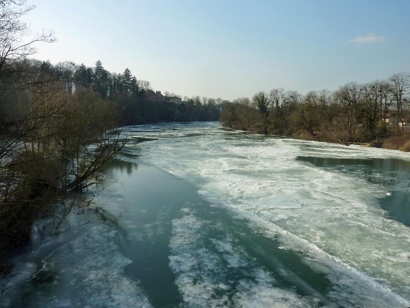 Doubs glacé