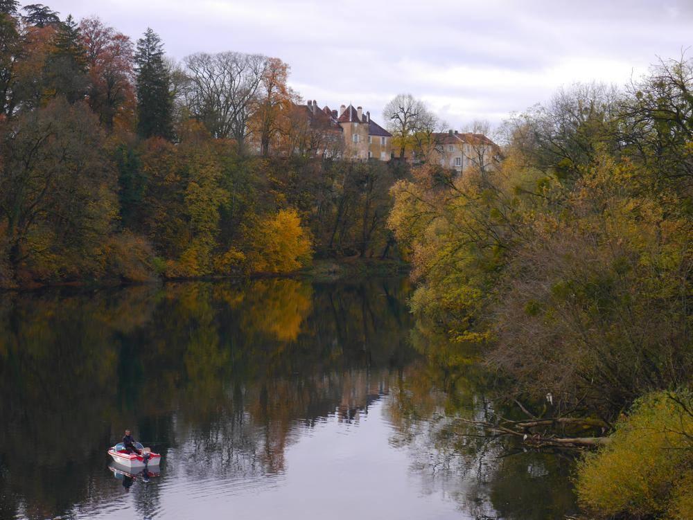 Château sur le Doubs