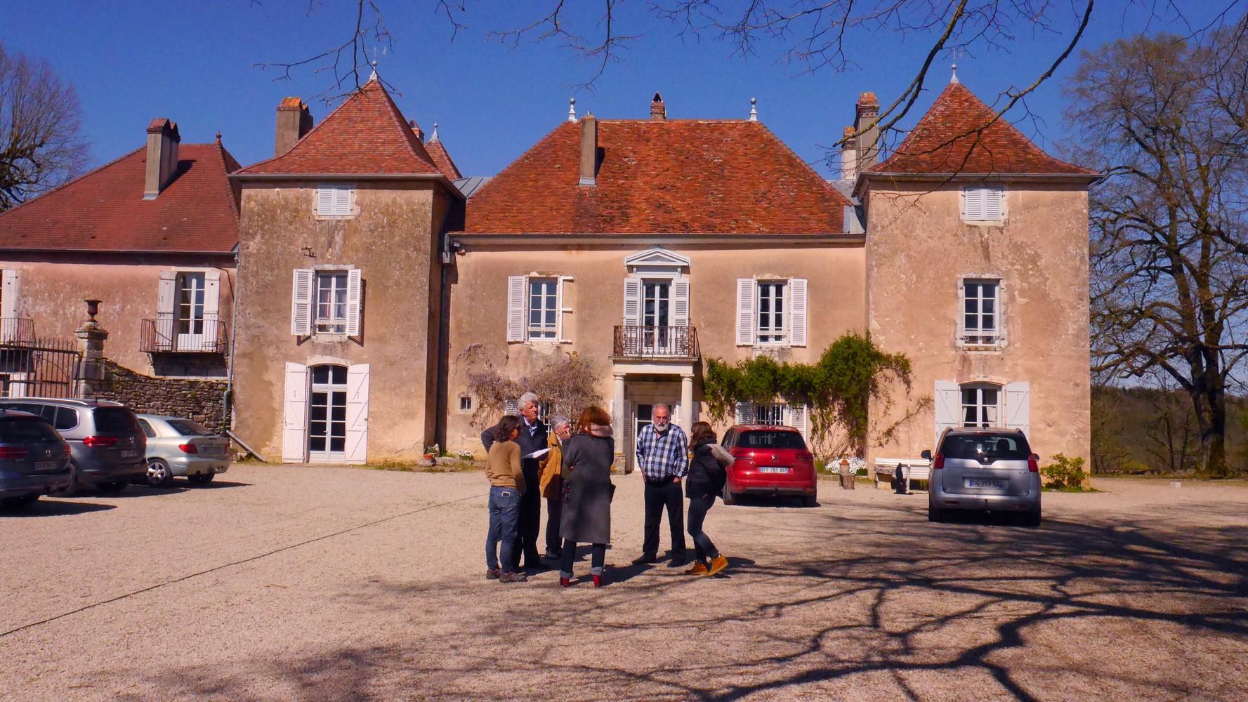 Avril 2021 Parc du château de Roset-Fluans